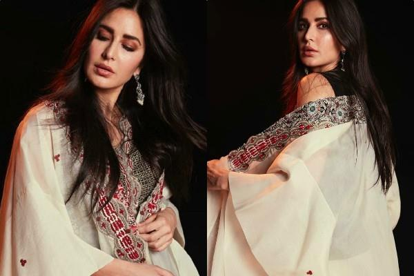 katrina kaif looks beautiful in traditional outfit