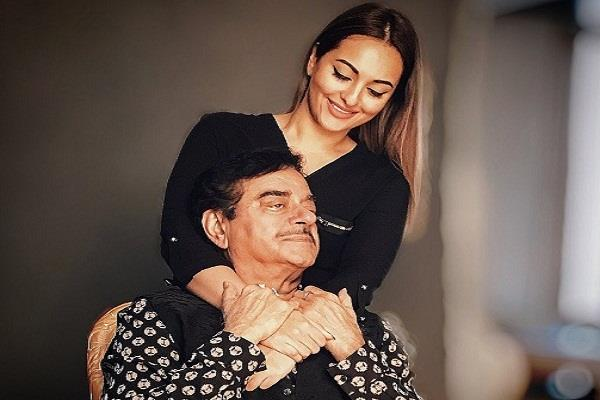 sonakshi sinha share a picture with father shatrughan sinha