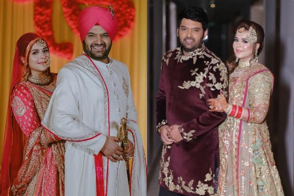 kapil sharma and ginni chatrath pictures on first anniversary