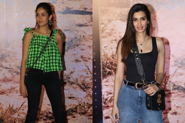 mira rajput diana penty stunning look at u2 india concert