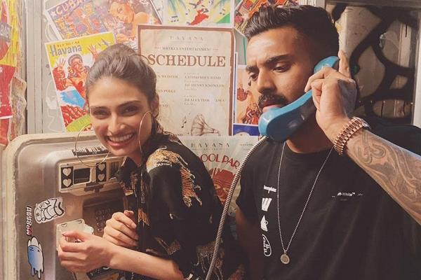 suniel shetty comment on kl rahul picture with daughter athiya shetty