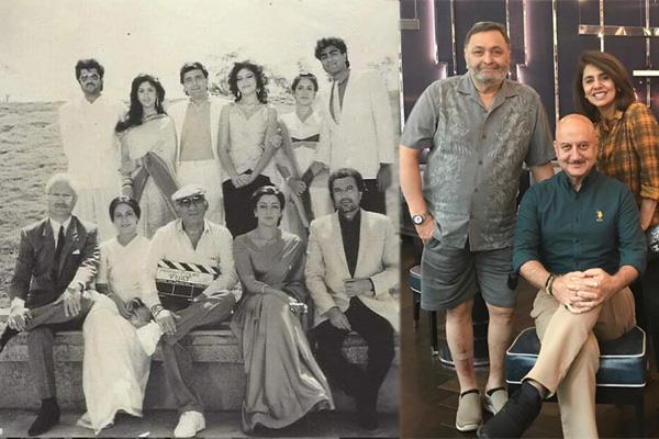 anupam kher shares throwback pictures with yash chopra and hema malini