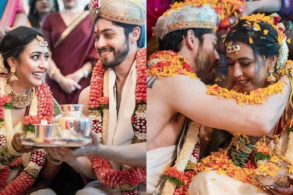 beyhadh actor kiran srinivas ties the knot with hitha chandrashekar