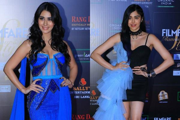 adah sharma and warina hussain at awards show