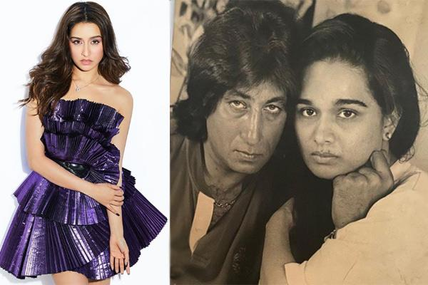 shraddha kapoor wishes shakti kapoor and shivangi kolhapure on anniversary