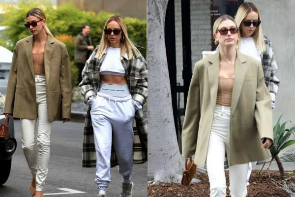 justin bieber wife hailey bieber bossy look in latest pictures