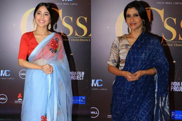 konkona sen sharma and shweta tripathi at critics choice awards