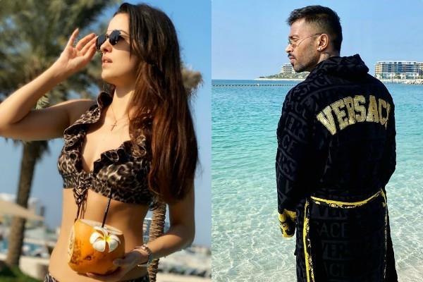 natasa stankovic enjoy holiday with cricketer hardik pandya indubai