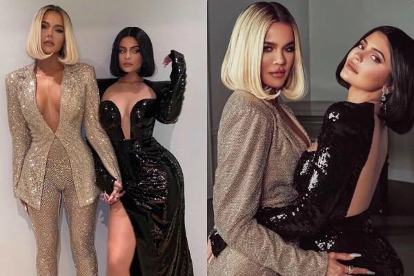 kylie jenner khloe kardashian bold photoshoot pictures viral
