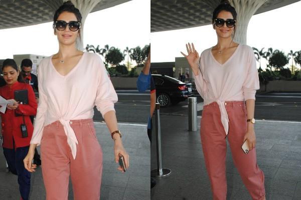 karishma tanna spotted at airport