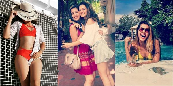 taapsee pannu sister shagun pannu pictures goes viral on internet