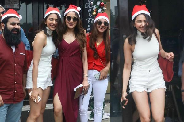 rakul preet celebrated christmas