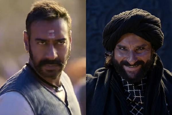 ajay saif film tanhaji the unsung warrior first song shankara re shankara out