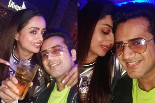 parul chauhan spend quality time with husband chirag thakkar in opa bar and cafe