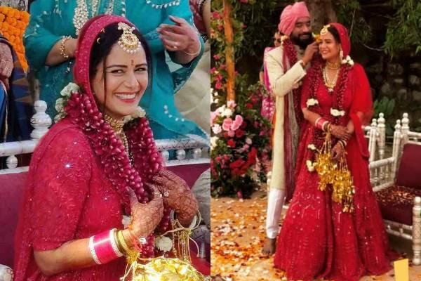 actress mona singh tied the knot with boyfriend shyam