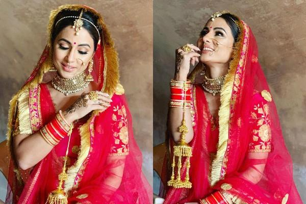 hina khan shares photos from the set of raanjhana