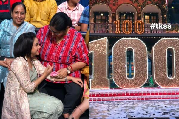 kapil sharma show completed its 100 episode photos