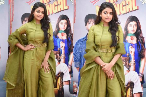 riva kishan promotes film sab kushal mangal