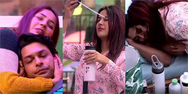 siddharth shukla shehnaz kaur gill cute fight in bigg boss house