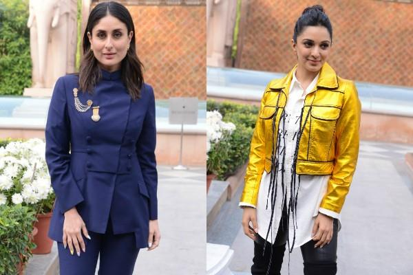kareena and kiara advani promotes film good news