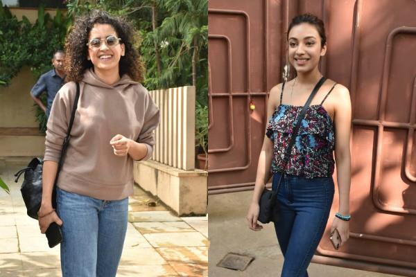 sanya malhotra and saher bamba looked stunning