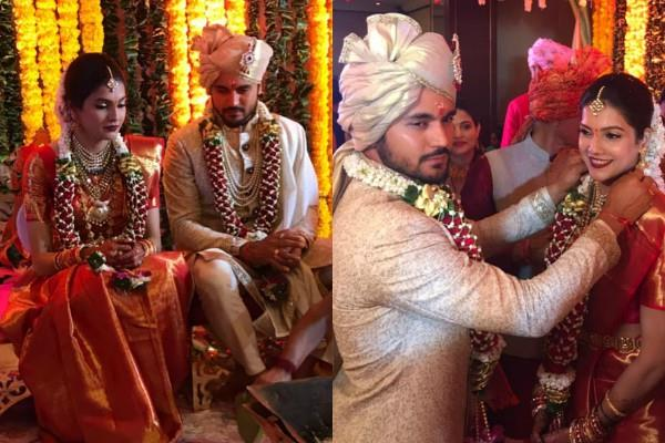 manish pandey ties the knot with actress ashrita shetty