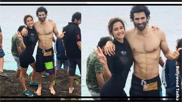 disha patani and aditya roy kapoor shoot kissing scene underwater for malang