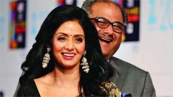 boney kapoor will make movie on sridevi biopic