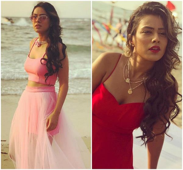 bold look of nia sharma