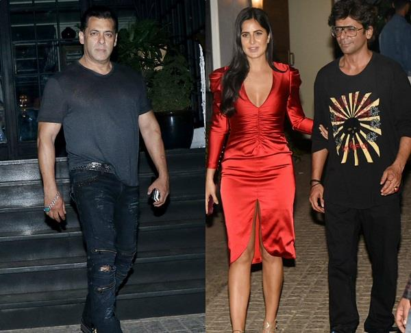 salman bharat movie wrap up party