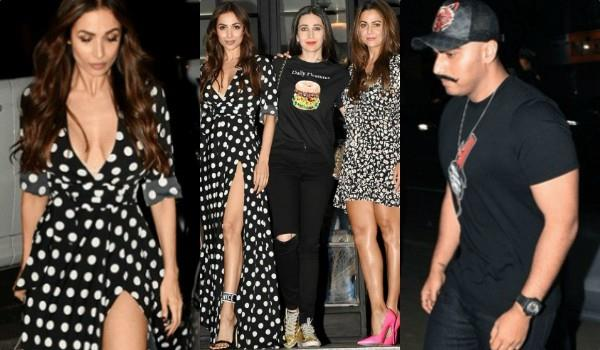 arjun malaika spotted at dinner date
