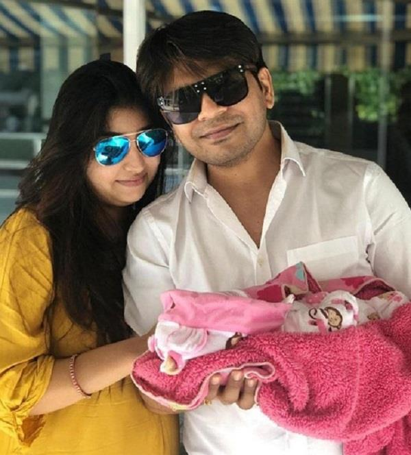 ankit tiwari blessed with a baby girl