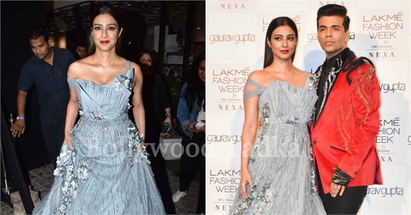 tabu karan johar lakme fashion week 2019
