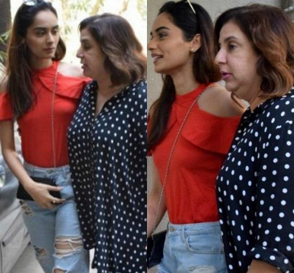 farah khan will launch manushi chhillar
