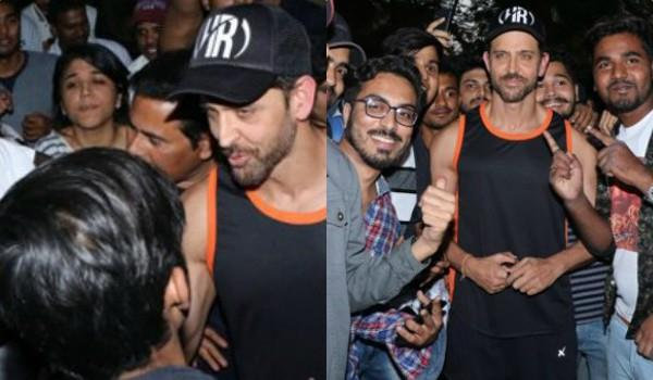 hrithik roshan celebrates his birthday with fans