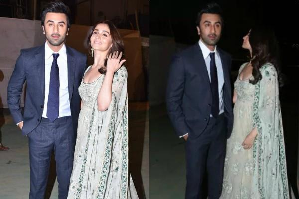ranbir kapoor alia bhatt at umang awards 2019