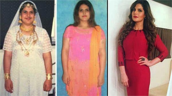 fat to fit zarine khan