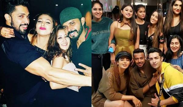 bigg boss 12 contestants celebrated new year