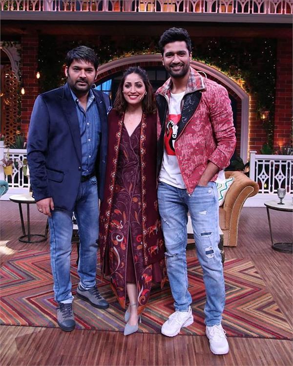 vicky kaushal yami gautam kapil sharma show