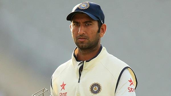 pujara was batting with in match father was suffering heart disease in hospital