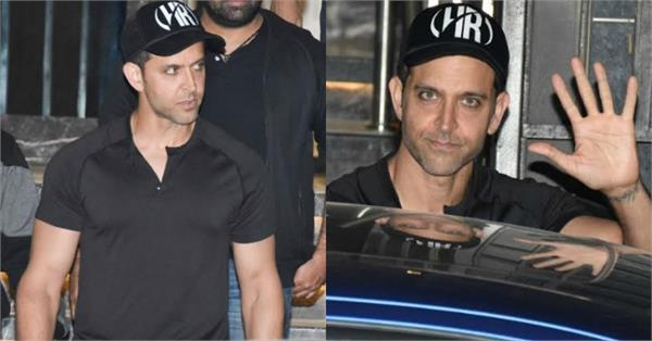 hrithik roshan spotted at gym in juhu