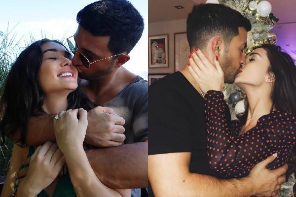 amy jackson gets engaged to beau george panayiotou