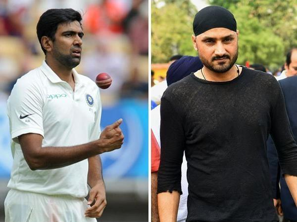 former india player harbhajan singh s class for comment on ashwin