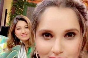 kapil sharma funny video with sania mirza
