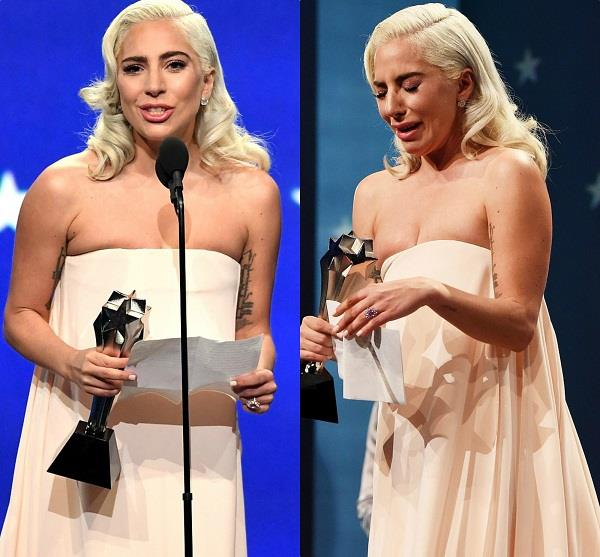 lady gaga attend critics choice awards 2019
