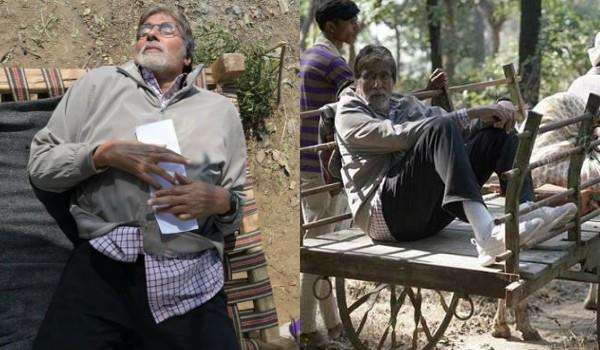 amitabh bachchan is shooting for the film jhund