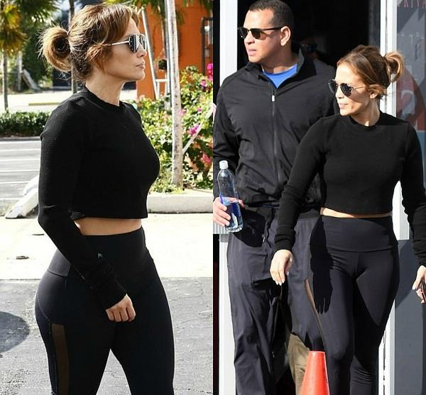 jennifer lopez spotted with alex rodriguez
