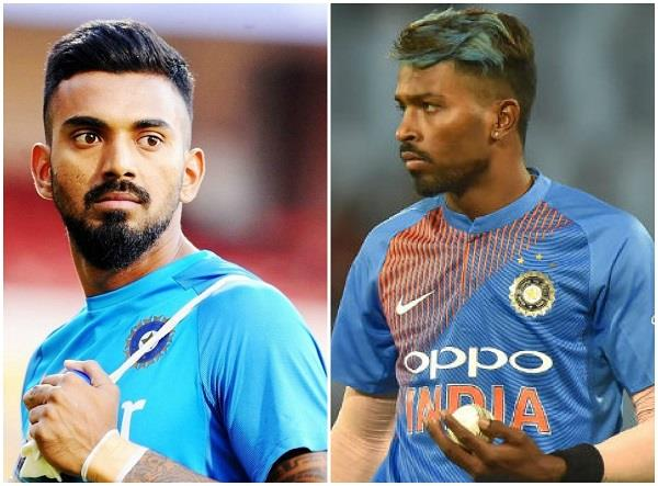 bcci take action on hardik pandya and kl rahul