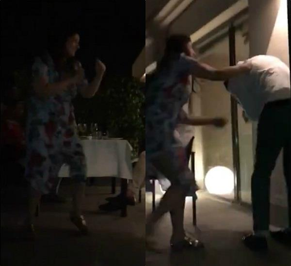 18वीं सालगिराह पर अक्षय को पड़ी पत्नी से मार, वीडियो वायरल