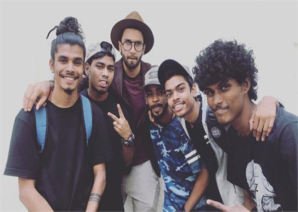 more than 5 street rappers rocket in the film gully boy